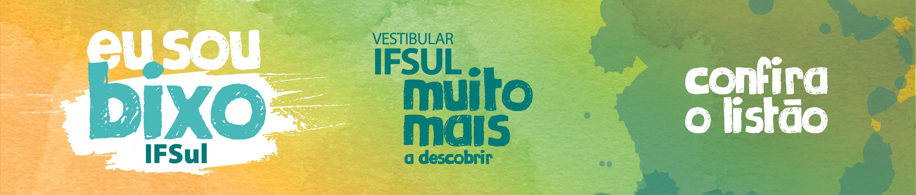 Vestibular IFSul Verão 2019